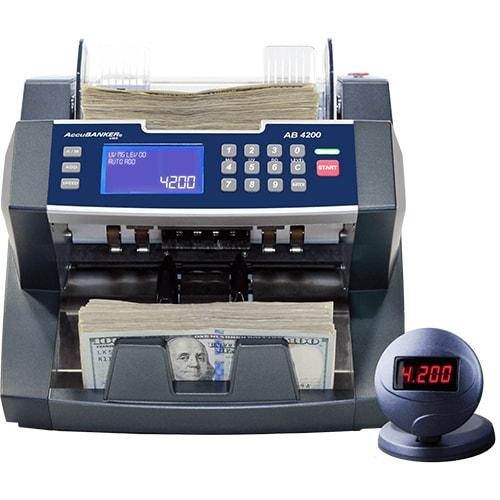 1-AccuBANKER AB 4200 UV/MG bankjegyszámláló