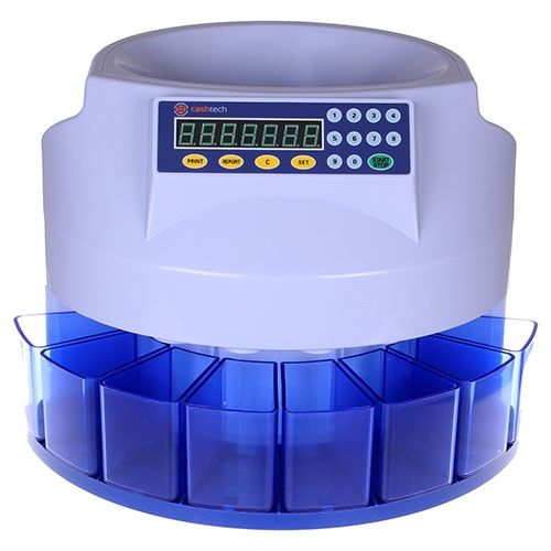 1-Cashtech 360 PLN érmeszámláló