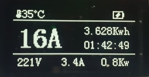 4-EV EVSE Type1 (max. 16A) EV töltő