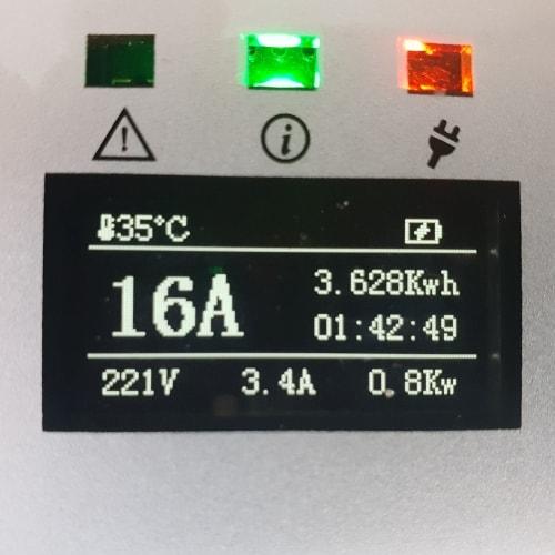 3-EV EVSE Type2 (max. 16A) EV töltő