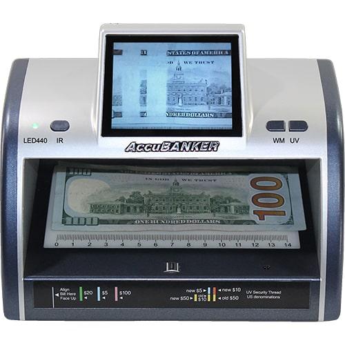 1-AccuBANKER LED440 bankjegyvizsgáló