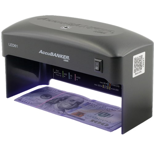 1-AccuBANKER LED61 bankjegyvizsgáló